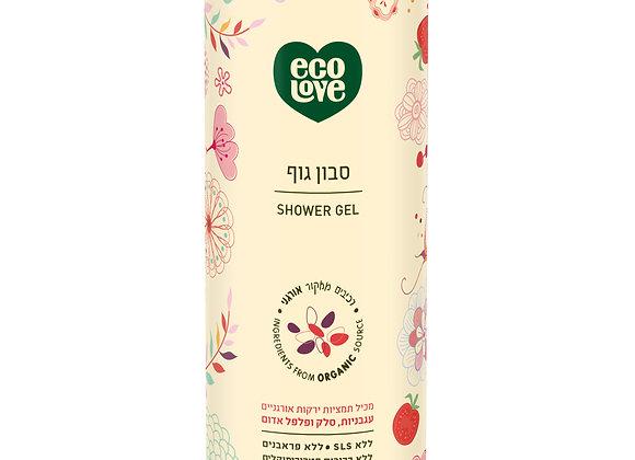 אקו לאב - סבון גוף מרכיבים טבעיים ואורגניים סדרה אדומה