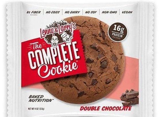 עוגיות חלבון lenny & larry's דאבל שוקולד
