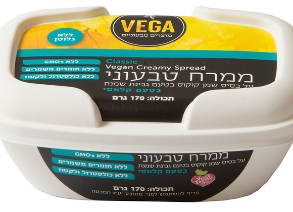 VEGA - ממרח טבעוני בטעם גבינת שמנת קלאסי