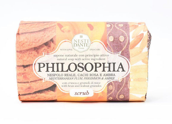Scrub סבון טבעי טיפולי - פילוסופיה
