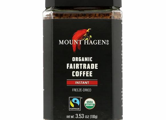 מאונט האגן - קפה נמס אורגני מיובש בהקפאה