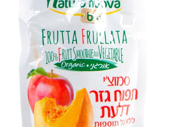 נטורה נובה - סמוצ´י תפוח גזר דלעת אורגניים