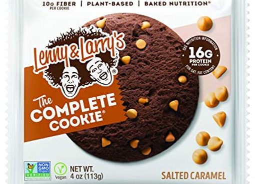 LENNY & LARRY'S SALTED CARAMEL עוגיות חלבון