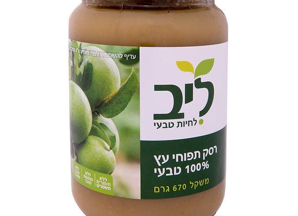 ליב - רסק תפוחי עץ טבעי