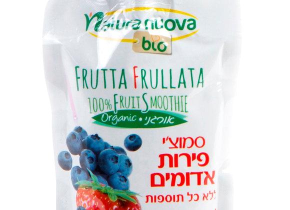 נטורה נובה - סמוצ´י פירות אדומים אורגניים