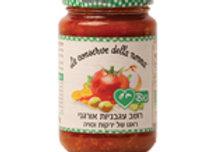 רוטב עגבניות -בולונז ירקות וסויה