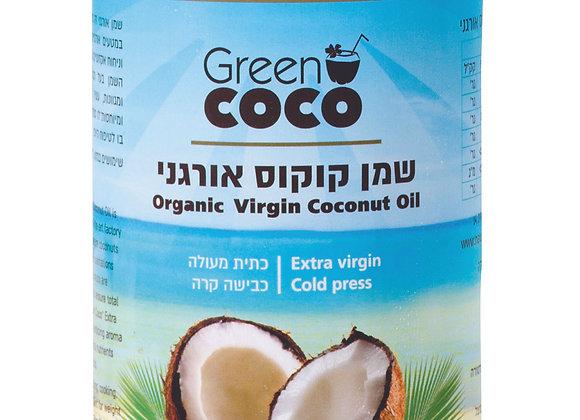 גרין קוקו- שמן קוקוס אורגני 1 ליטר.