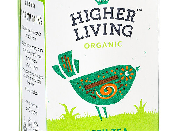 הייר ליווינג - תה צ´אי ירוק אורגני