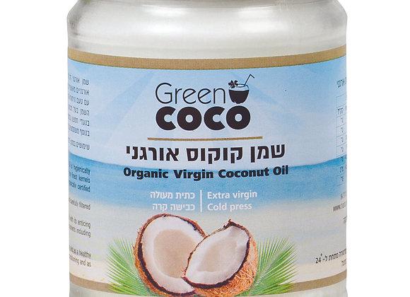 גרין קוקו- שמן קוקוס אורגני חצי ליטר.