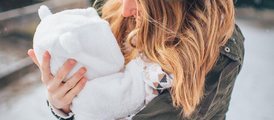 Tragen schützt dein Baby!