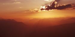 Lever de soleil Mt Guillaume 2