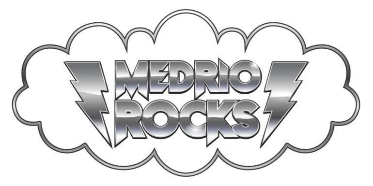A rock logo concept