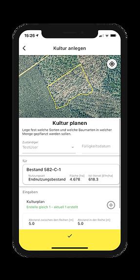 Waldbauliche Planung mobil erfassen in der Dynamic Forest-App von OCELL
