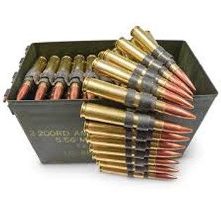 50 BMG Machine Gun Belt (25 x 50 BMG)