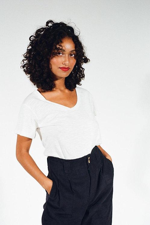 T-shirt Colette écru