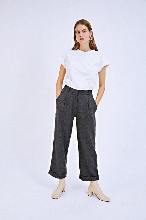 Pantalon Follie gris