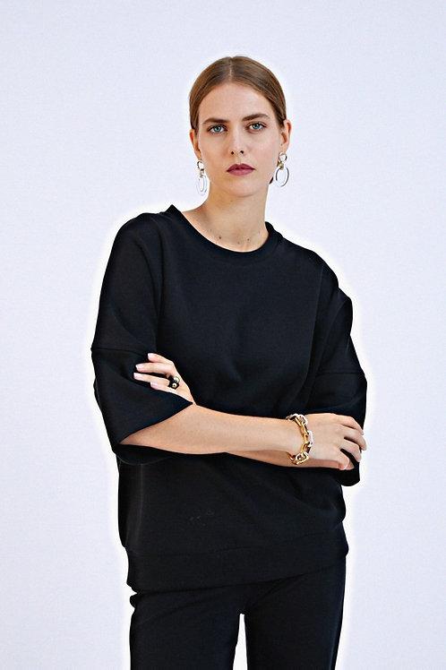 Sweat-shirt Félice noir