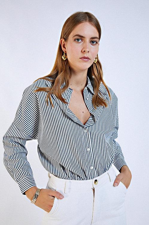 Chemise Feu à rayures