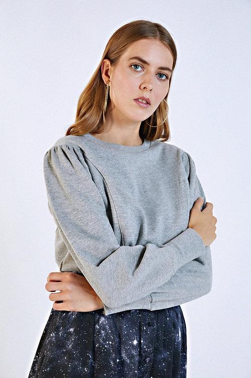 Sweat-shirt Florence gris