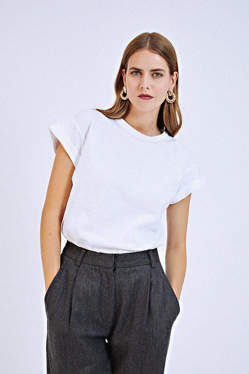 T-shirt Brow blanc