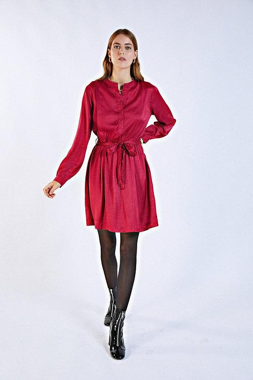 Robe Fleurie Fuchsia