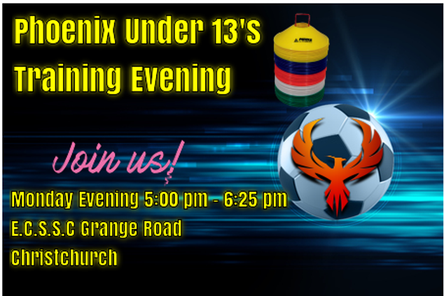 under 13's training.png