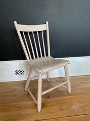 Adorable buff colored chair