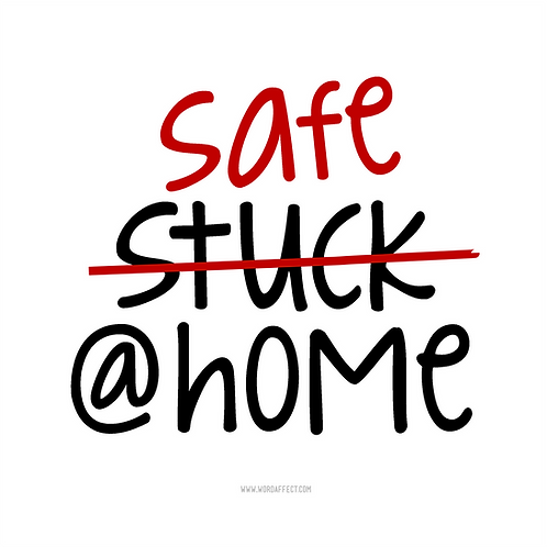 Safe@Home - Square Graphic