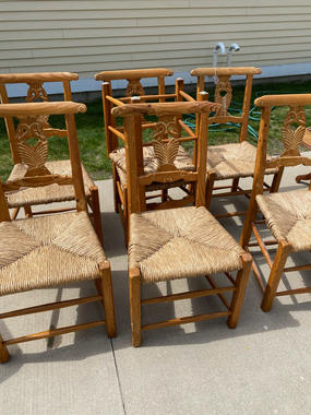 Set of 7 chairs $336 OBO