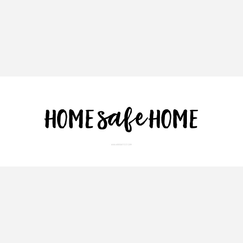 Home Safe Home - Cover Art