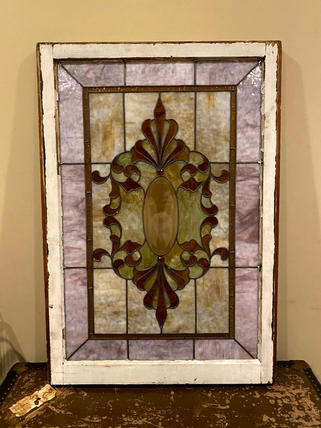 Lovely Stained Glass Window $300 OBO