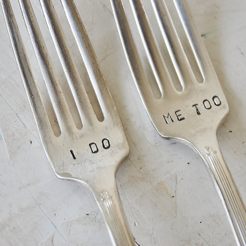 Fork Set (2) for Weddings/Couples