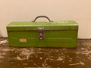 Green tool chest $49 with insert.