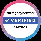 surrogacy network verified provider badge