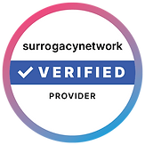 surrogacy network verified provider badge