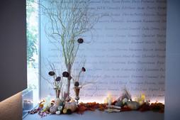 ハロウィーン装花