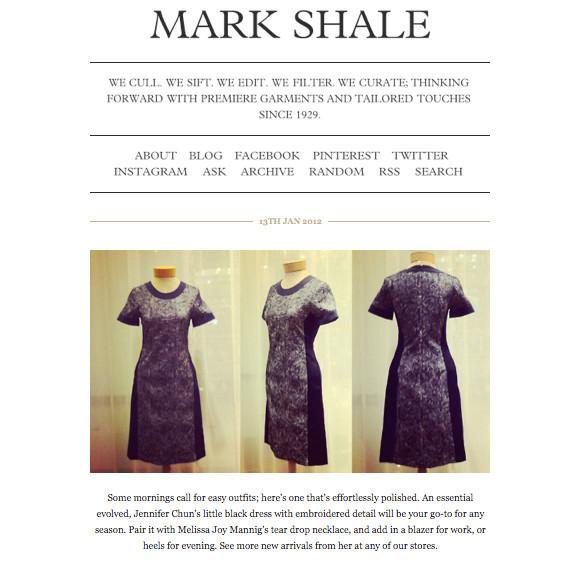 Mark Shale Blog
