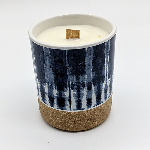 Tie Dye Candle