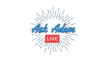 Ask Adam Logo (blue text, live on bottom).png