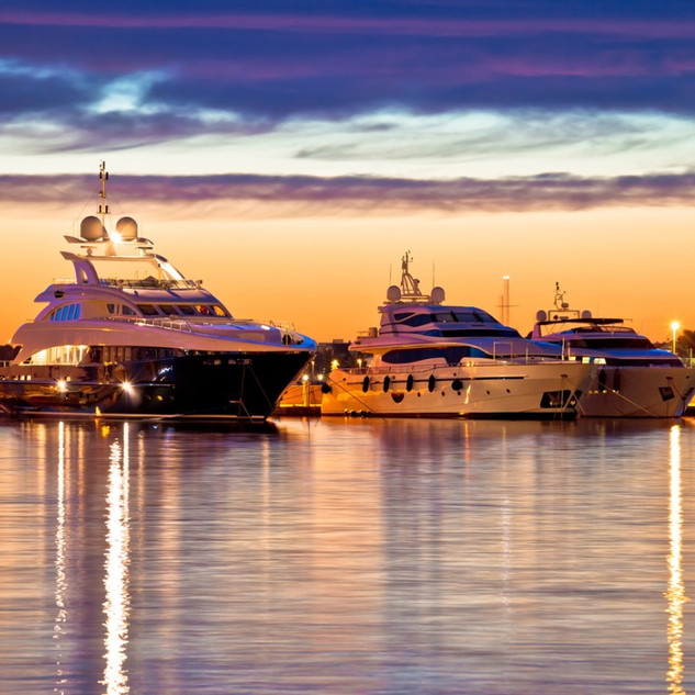 luxury-yachts-harbor-at-golden-hour-view