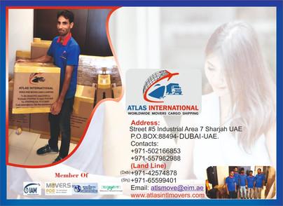 Atlas International Worldwide Cargo Shipping