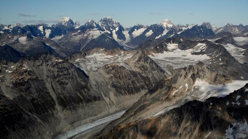 Alpes com neve