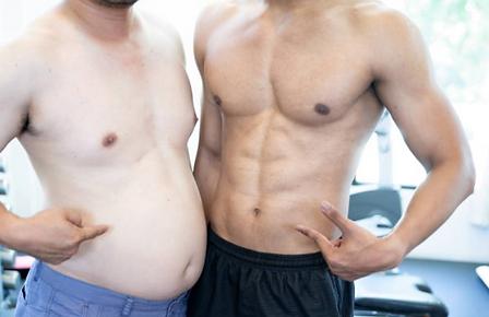 comparing fat men