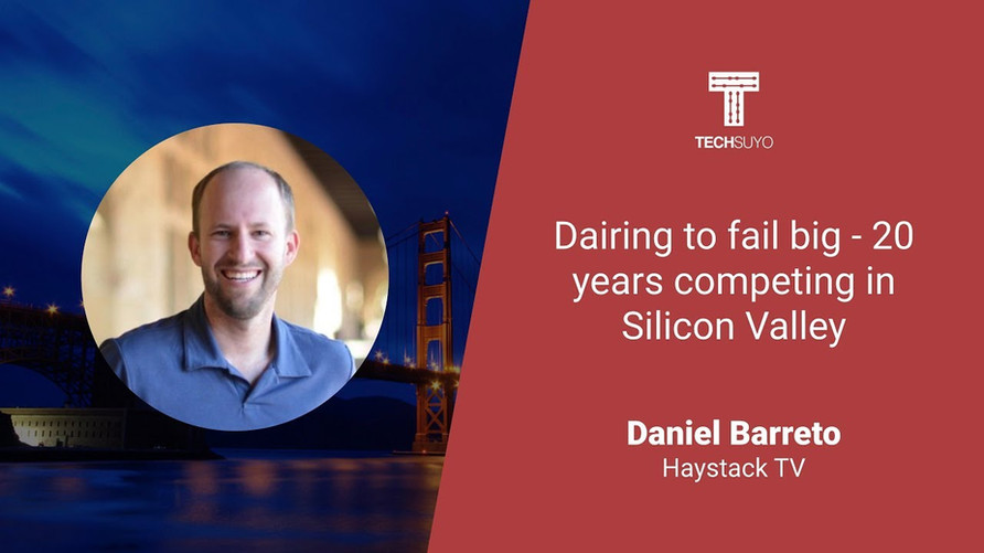 Dairing to fail big - 20 years competing in Silicon Valley
