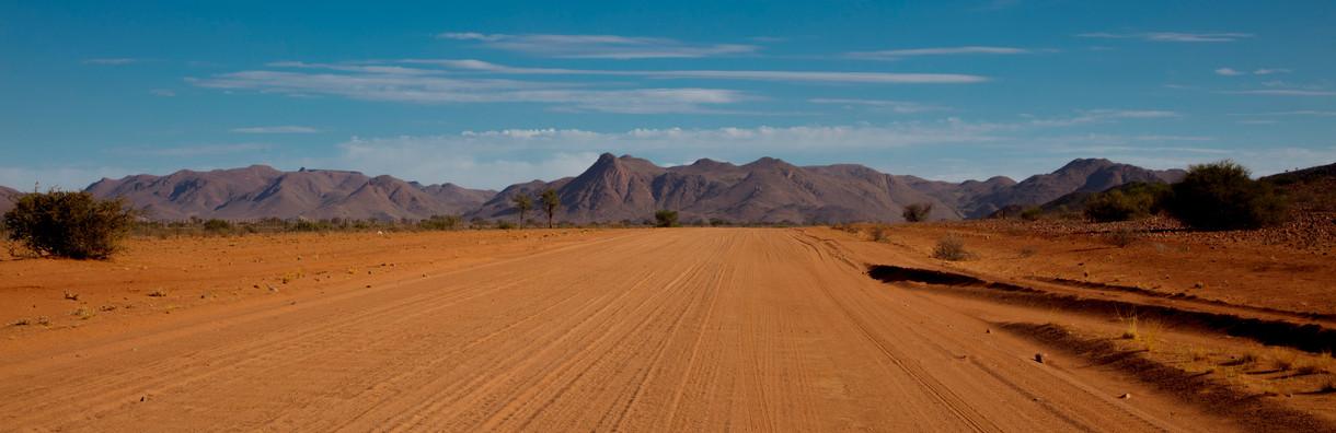 Desert Landscape - by Alan J Hendry