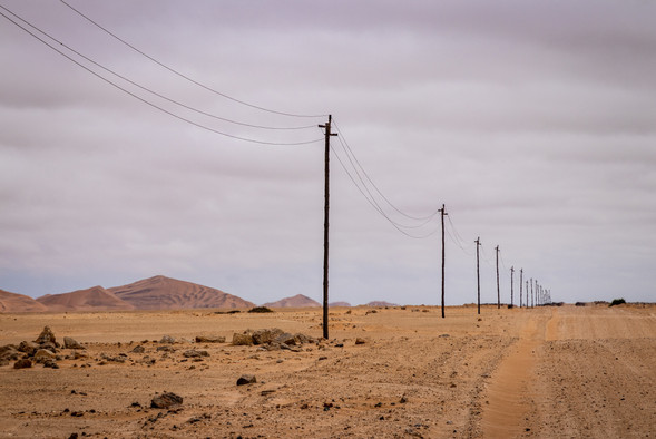 Photo Lines by Road - by Grant Durr