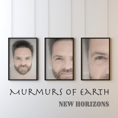 Cover art for Murmurs of Earth's New Horizons Album released May 2019.  Artwork by Siân Hodges.