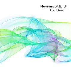Cover Art for Murmurs of Earth's single 'Hard Rain' released March 2018.  Artwork by Jon Lycett-Smith.