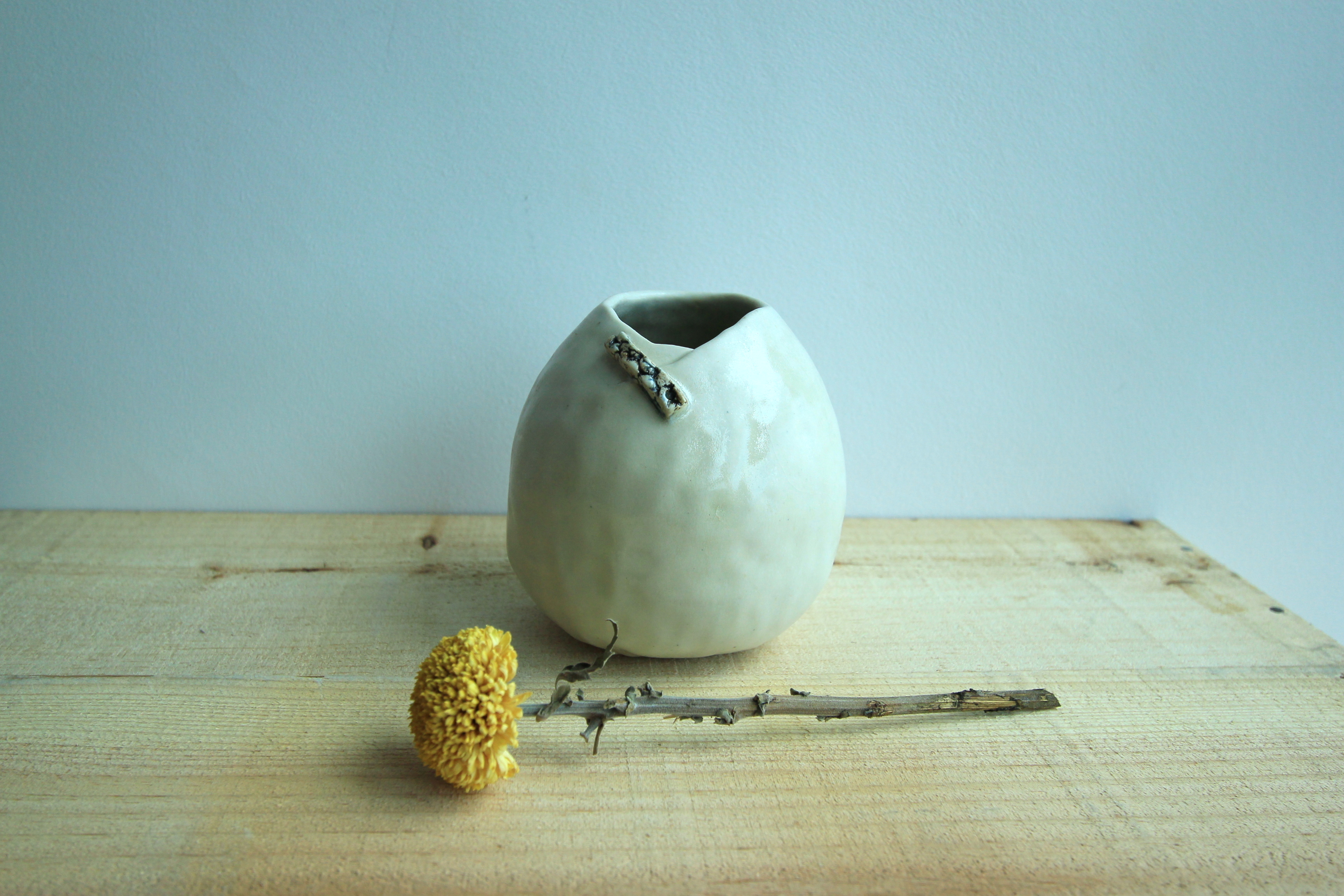 Hand pinched vase (small)