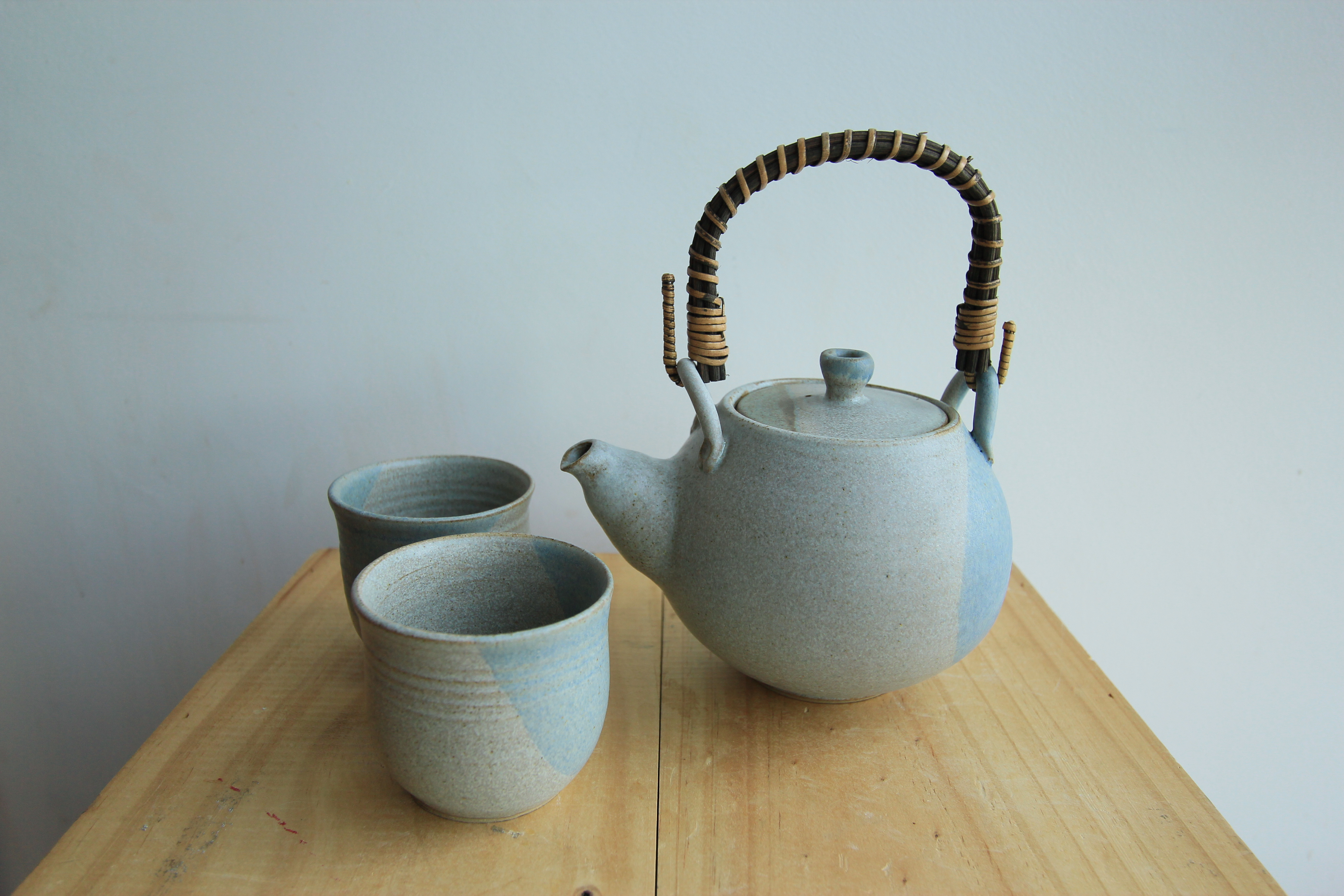 Grey teapot set